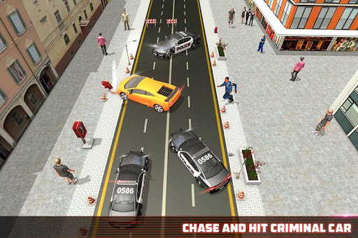 NYC Police Department Cars : Mafia Gangster Chase