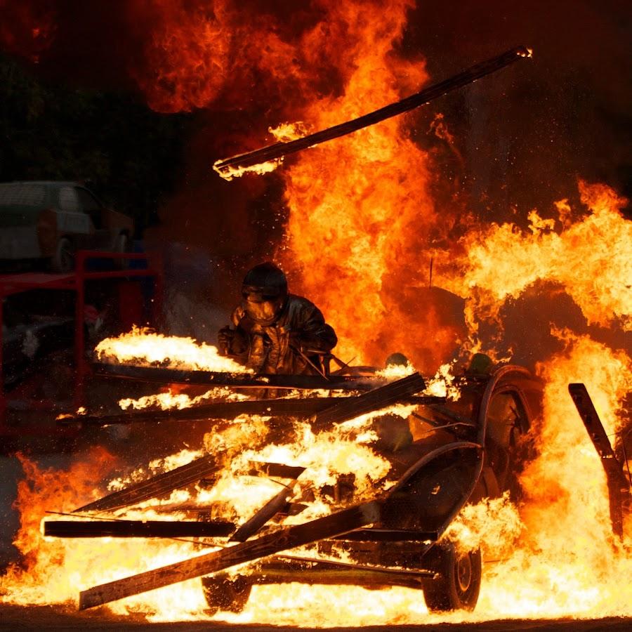 Mad Max by Henrik Hugnell - Sports & Fitness Motorsports ( driving, stunt, burning, man, fire )