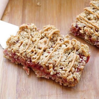 Peanut Butter and Jelly Granola Bars Recipe