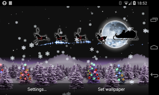 Christmas Live Wallpaper Santa hack tool