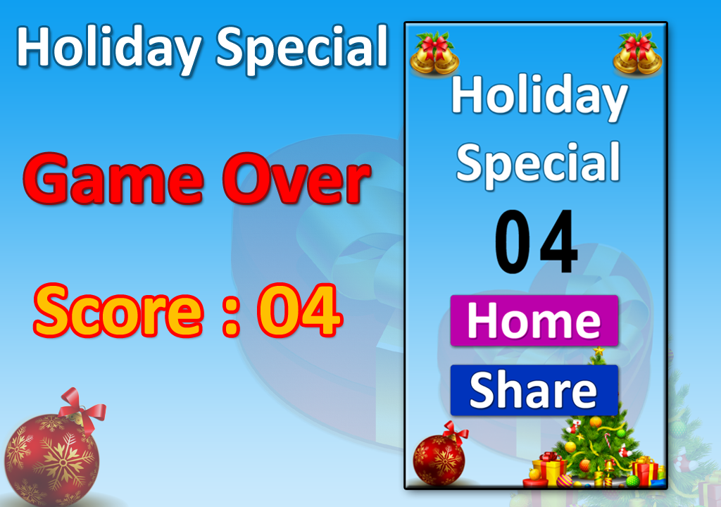 Holiday Special Kids Game- screenshot