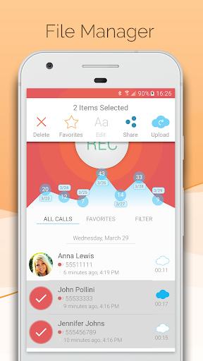 Automatic Call Recorder - CallsBOX 2.7 screenshots 3