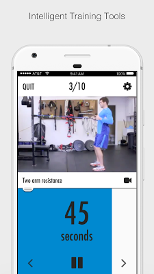 Resistance Bands - Full Body Strength Workouts - screenshot