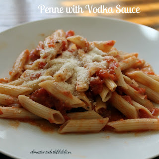 Penne with Vodka Sauce.