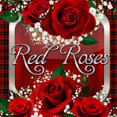 Red Roses Go Launcher  Theme