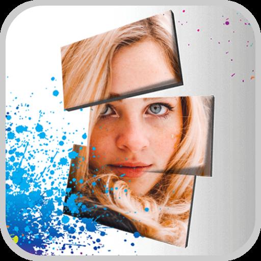 3D Overlay Photo Blender App Icon