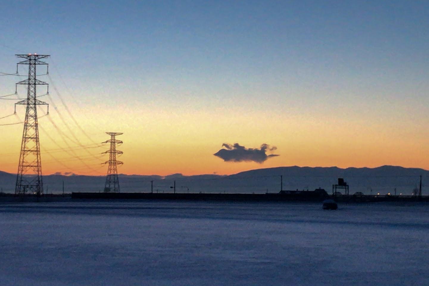 飛行船雲のメッセージ