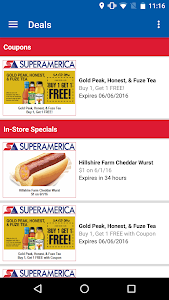 SuperAmerica Deals screenshot 2