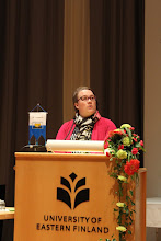 Photo: Liittohallitukseen ehdolla olivat: Minna Joensuu, SF-Caravan Espoo ry...