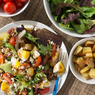 Breakfast Salad with Eggs + Potatoes