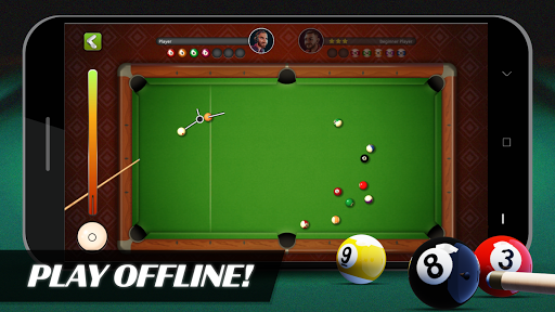 8 Ball Billiards- Offline Free Pool Game apkmartins screenshots 1