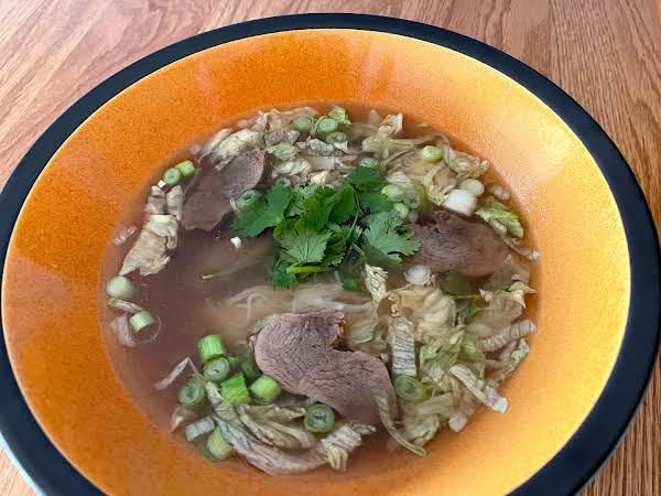 Thai Duck Soup  ( Ped Toon)