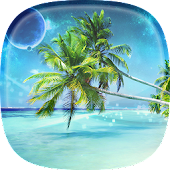Island Beach Live Wallpaper