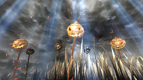 3D Pumpkins Grass FREE- screenshot thumbnail