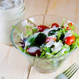 Plant Strong Vegan Ranch Dressing (or Dip!)