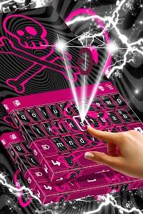 Keyboard Emo Themes - náhled