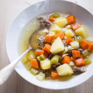 Beef And Vegetable Soup.