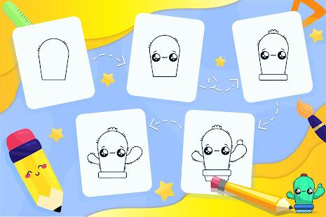 Learn How to Draw Kawaii Characters