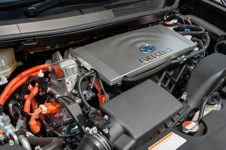 The engine of fuel cell vehicle. Picture: ISTOCK