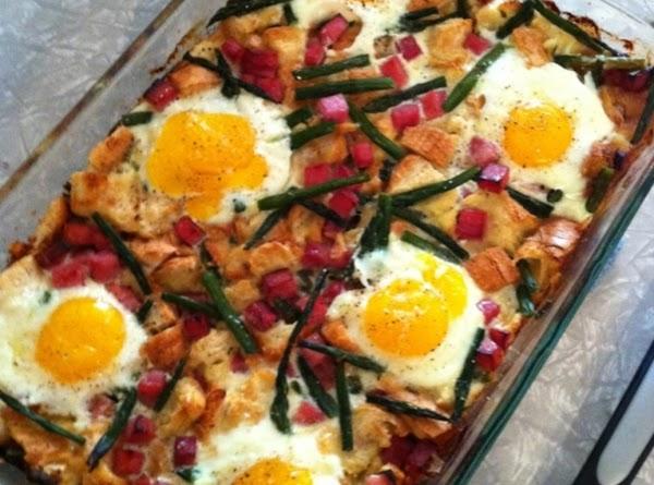 Ham & Asparagus Strata Recipe