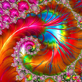 Colorful by Capucino Julio - Illustration Abstract & Patterns ( red, colorful, domination, fractal, design )