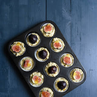 Fig, Ricotta and Olive Oil Muffins.