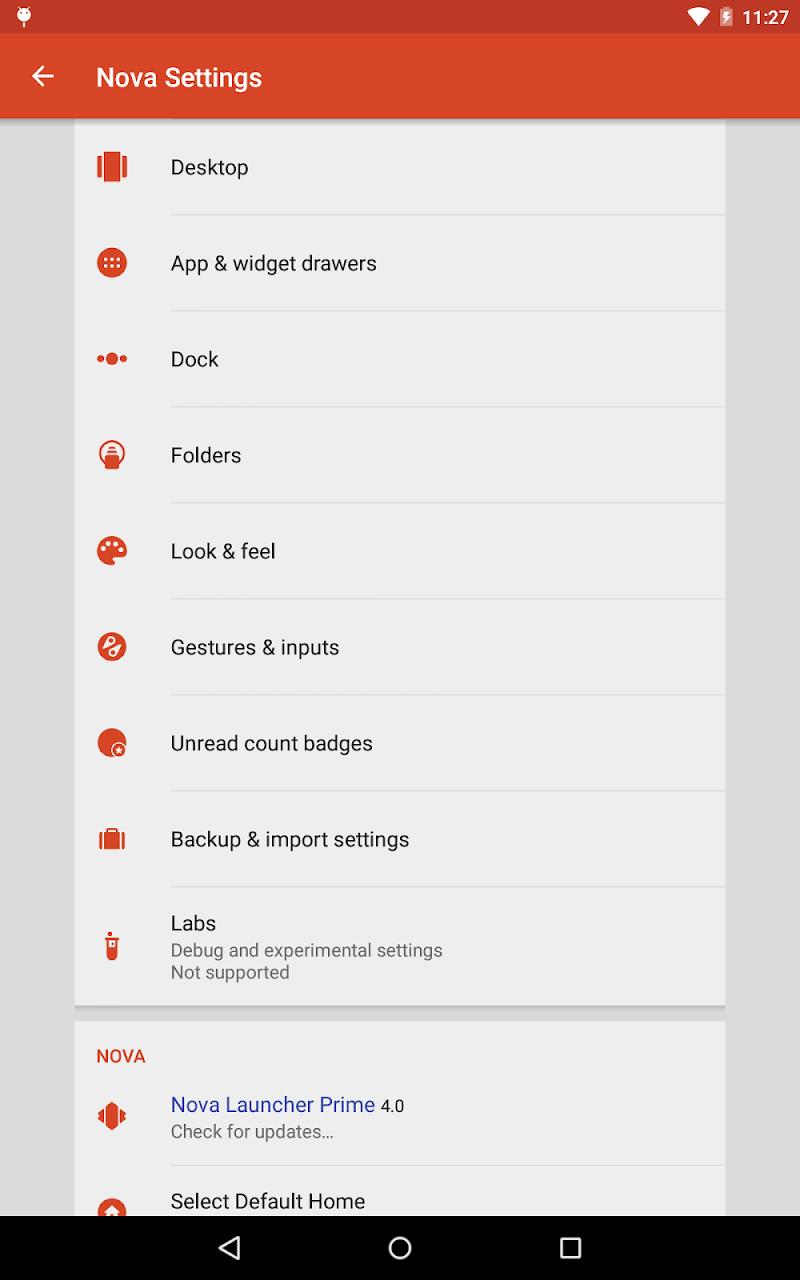 Nova Launcher Screenshot 9