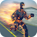 Flame Light Speed Hero Crime Simulator icon