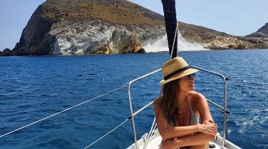 Isabel Jiménez se despide de Almería con esta espectacular foto