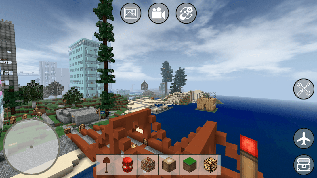 Mini Block Craft Android App Screenshot