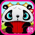 Panda Run And Jump Games Free icon