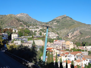 Photo: There's a cable car to take you from 197m to 25m and a chance to swim in the Mediterranean