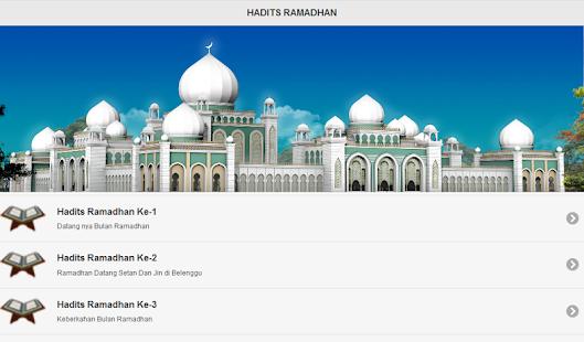 Aplikasi Ramadhan screenshot