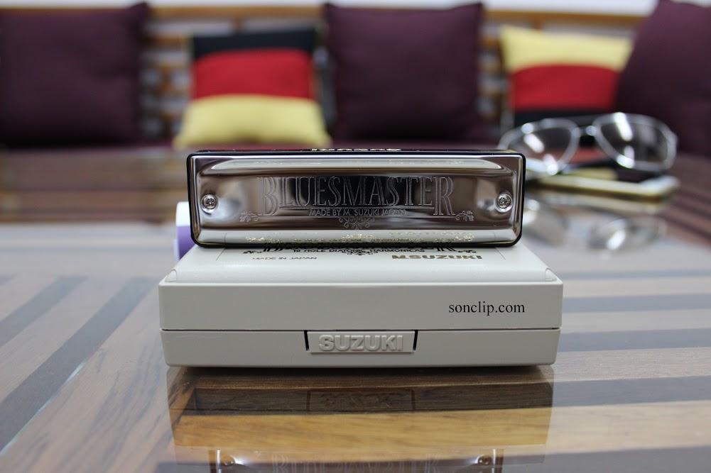 Kèn Harmonica - Suzuki BluesMaster MR-250 (key F)