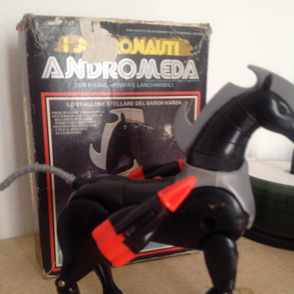 Micronauti: cavallo Andromeda con scatola