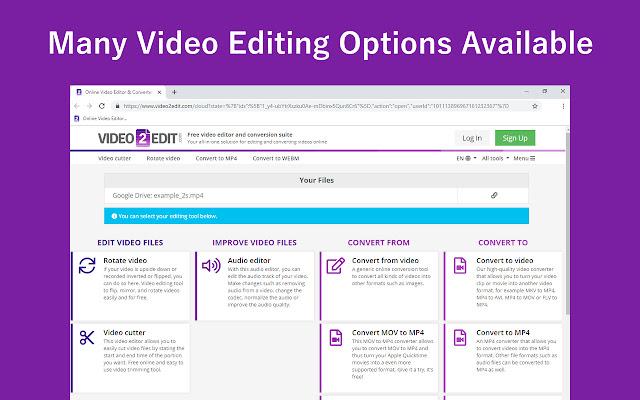 Video2Edit - Video Editor & Video Converter