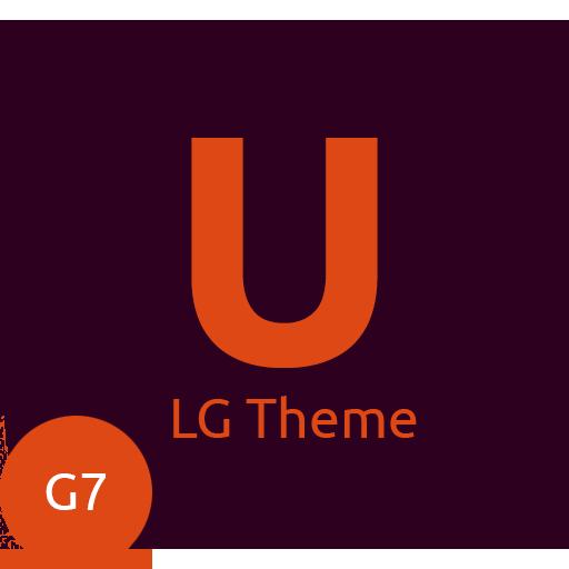 Ubuntu Theme for LG G7 & V35