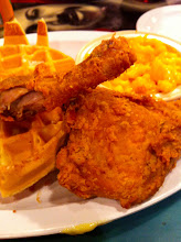 Photo: The last supper: chicken and waffles
