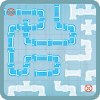 Plumber - Pipes Flood Puzzle