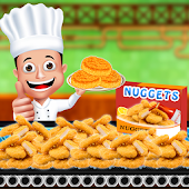 Nuggets Chicken Factory - Cooking Game