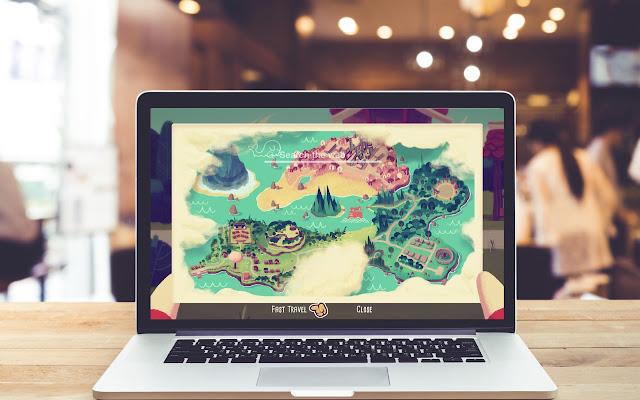 Mineko's Night Market HD Wallpaper Game Theme
