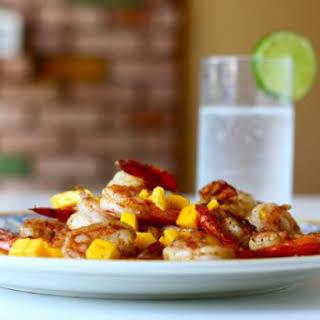 Spicy Caribbean Shrimp.