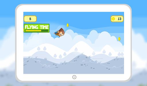 Monkey Jungle Jet Pack Flying screenshot 5