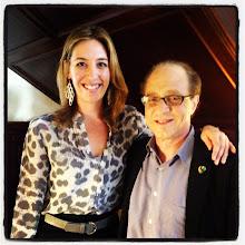 Photo: Molly Wood and Ray Kurzweil