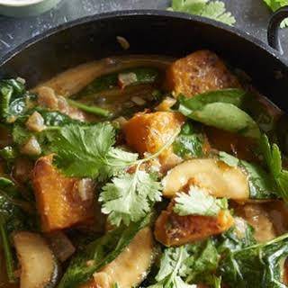 Vegan Butternut Squash Curry Recipes.