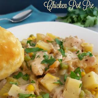 Crock Pot Chicken Pot Pie.