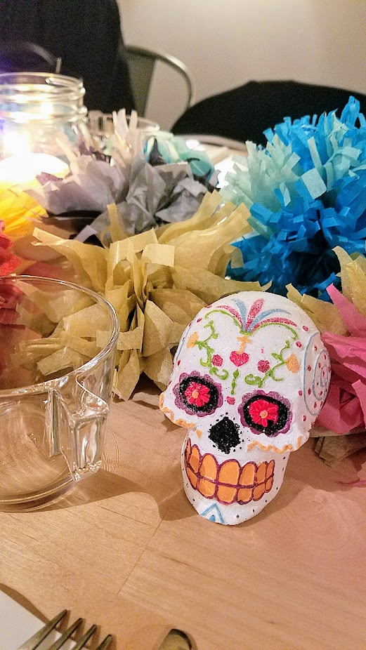 Day of the Dead or Dia de los Muertos Dinner with Hand Made Mexico with Chef Cynthia Vigil and Feastly