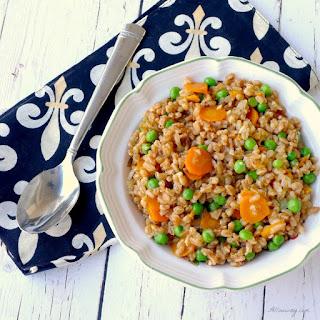 Farro and Peas ( Risi e Bisi)