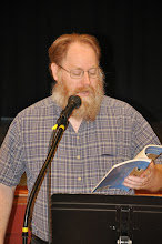 Photo: Kevin Mooneyham reads his work.