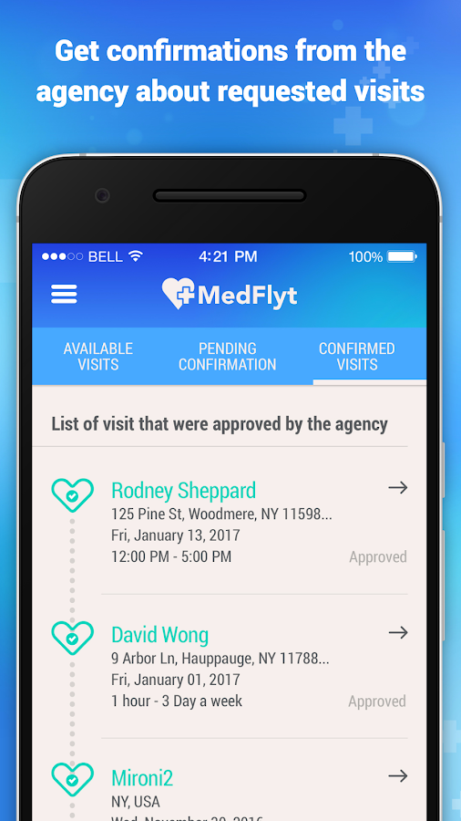 Medflyt- screenshot